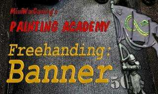 Painting Academy DVD 4 -  Freehanding a Banner
