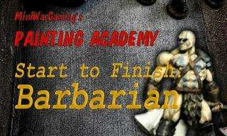 Painting Academy DVD 5 -  Painting a Barbarian