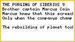 The purging of siberius 9