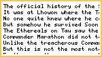 The Untold History of Sept World Lhowon and Commander Marathon
