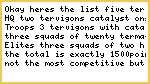 TERVIGON army list