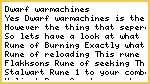 Dwarf Warmachines and you