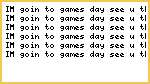 Gamesday