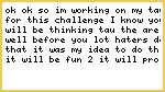 Tau Challenge