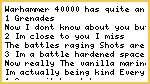 4 things that dont make sense about Warhammer 40000