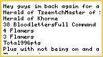 Fantasy Daemons 1000pt List