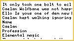 Short Elemental Warhammer story