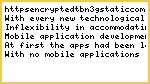 Mobile App Development- the Flourishing New Market