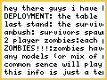 zombie survival for 40k-beta lolz idea