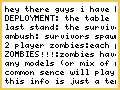 zombie survival for 40k-beta lolz idea