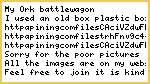 Scrach build battle wagon
