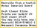 Special Guard unit