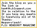 HEADHSOT MAGAZINE BLOG!!