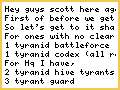 scotts tyranid army start to finnish part 2, what Ill get