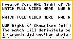 PGLI@@ Watch WWE Night of Champions 2014 Live Free Pay-Per-View Streaming Online