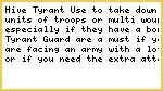 Hive Tyrant Tactica