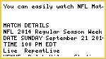 SNF@San Diego Chargers Vs Buffalo Bills live stream NFL Regular Season