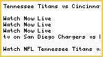 NFL# Tennessee Titans vs Cincinnati Bengals Live Stream.ing