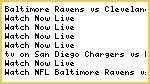 #NFL* Baltimore Ravens vs Cleveland Browns Live Streaming