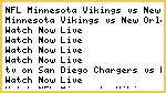 Watch#NFL* Minnesota Vikings vs New Orleans Saints Live Streaming 2014 Online Sunday