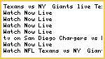 #NFL* Texans vs NY  Giants Live Streaming