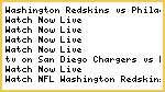#NFL* Washington Redskins vs Philadelphia Eagles Live Streaming NFL HD Tv Covarege