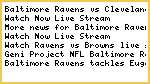 {CBS}Baltimore Ravens vs Cleveland Browns Live.streaming