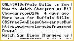 ONLY(0.01$)Buffalo Bills vs San Diego Chargers live WATCH Stream HD