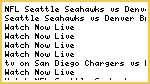 {SNF} Seattle Seahawks vs Denver Broncos Live Streaming NFL FOOTBALL Online Free