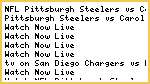 {HOW TO WATCH} Pittsburgh Steelers vs Carolina Panthers Live Streaming NFL FOOTBALL Online Free