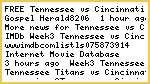 ~FREE** Tennessee vs Cincinnati live stream^ONLINE