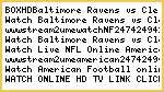 BOX!!HD!**Baltimore Ravens vs Cleveland Browns Live Stream