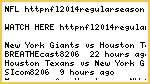 !!>>NFL!!watch houston texans vs. new york giants Live Stream