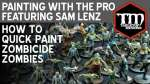 Tabletop Minions: How To Quick Paint Zombicide Zombies