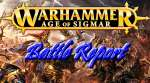 Age of Sigmar Battle Report on Lava Board