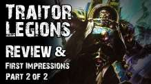 Traitor Legions Review