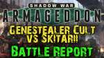 Shadow War : Armageddon Campaign Game 5 - Genestealter Cult vs Skitarii