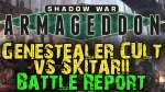 Shadow War : Armageddon Campaign Game 7 - Genestealer Cult vs Skitarii