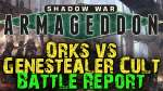 Shadow War- Armageddon Campaign Game 9 - Orks vs Genestealer Cult
