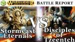 Stormcast Eternals vs Disciples of Tzeentch Age of Sigmar Battle Report - War of the Realms Ep 143