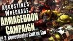 Genestealer Cult vs Tau - Augustines Wreckage Armageddon Narrative Campaign Ep 3