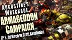Ad Mech vs Grott Revolution Augustine's Wreckage Armageddon Narrative Campaign Episode 8