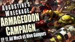 Ad Mech vs Hive Gangers Augustine's Wreckage Armageddon Narrative Campaign Episode 11