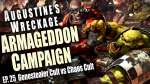 Genestealer Cult vs Chaos Cult Augustines Wreckage Armageddon Narrative Campaign Ep 25