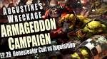 Genestealer Cult vs Inquisition Augustines Wreckage Armageddon Narrative Campaign Ep 28