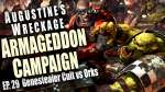 Genestealer Cult vs Orks Augustine's Wreckage Armageddon Narrative Campaign Ep 29