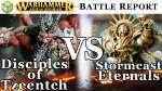 Disciples of Tzeentch vs Stormcast Eternals Age of Sigmar Battle Report - War of the Realms Ep 16...
