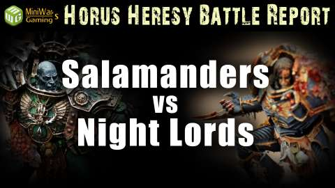 Horus Heresy Battle Reports