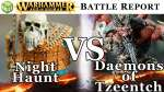 NEW Night Haunt vs Daemons of Tzeentch Age of Sigmar Battle Report - War of the Realms Ep 172