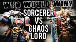 Night Lords Sorceror vs Murder Sword Chaos Lord - Who Would Win Ep 106